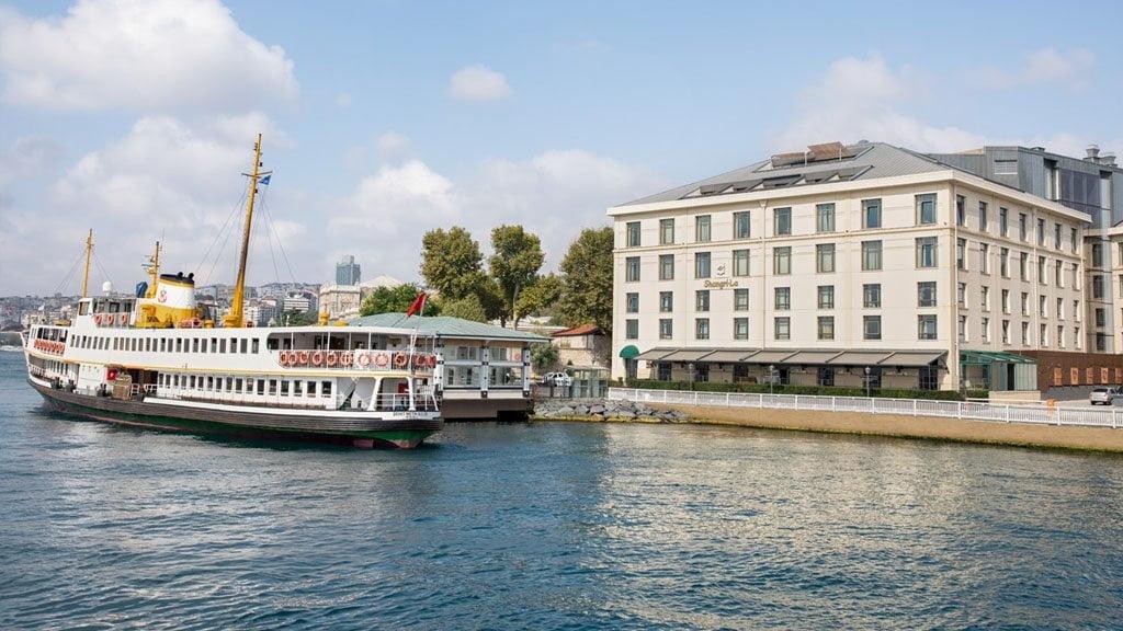 Airport Transfer To Shangri-la Bosphorus Istanbul