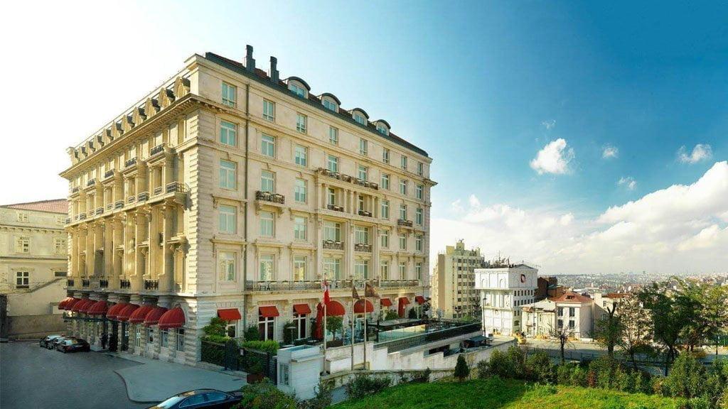 transfer to pera palace hotel